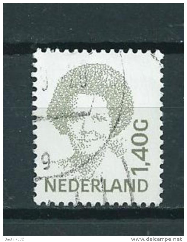 1991 Netherlands 1,40 Gulden Queen Beatrix Used/gebruikt/oblitere - Periode 1980-... (Beatrix)