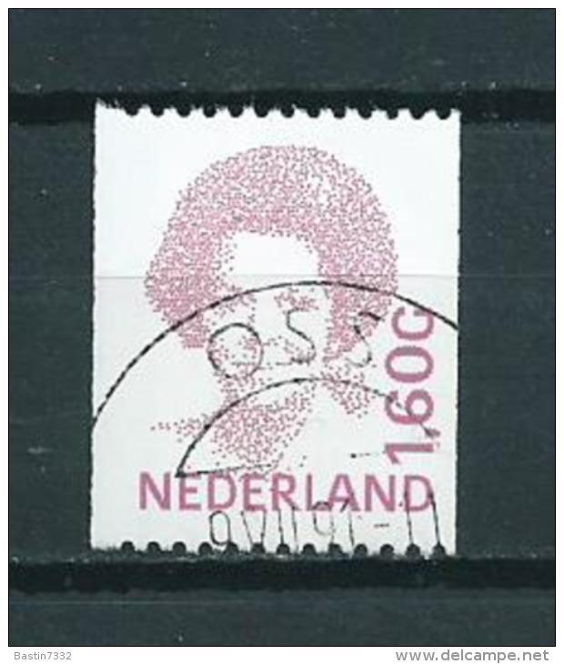 1991 Netherlands 1,60 Gulden Queen Beatrix,coil Stamps,rolzegel Used/gebruikt/oblitere - Periode 1980-... (Beatrix)