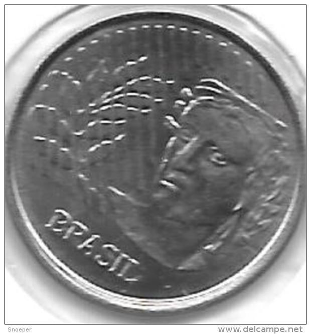 *brazil 10 Centavos 1997  Km 633  Bu - Brésil