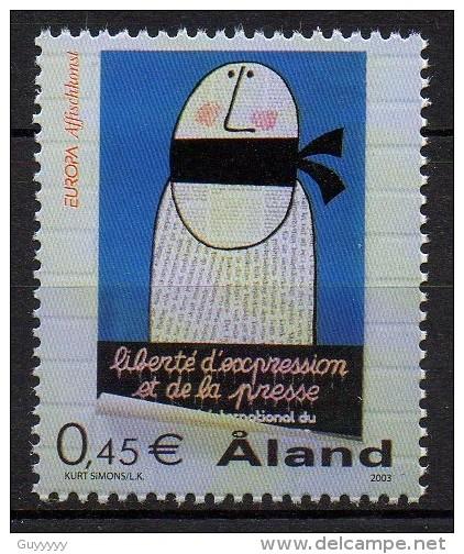 Aland - 2003 - Yvert N° 223 ** - Aland