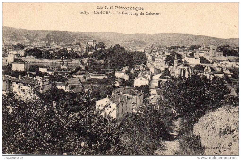 CPA    -   CAHORS    -    LE FAUBOURG DE CABESSUT - Cahors