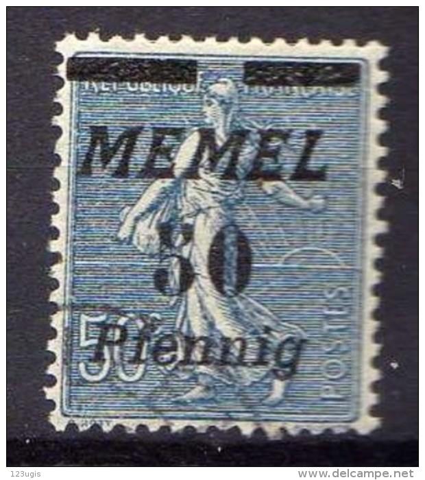 Memel 1922 Mi 61, Gestempelt [300416XIV] - Memelgebiet