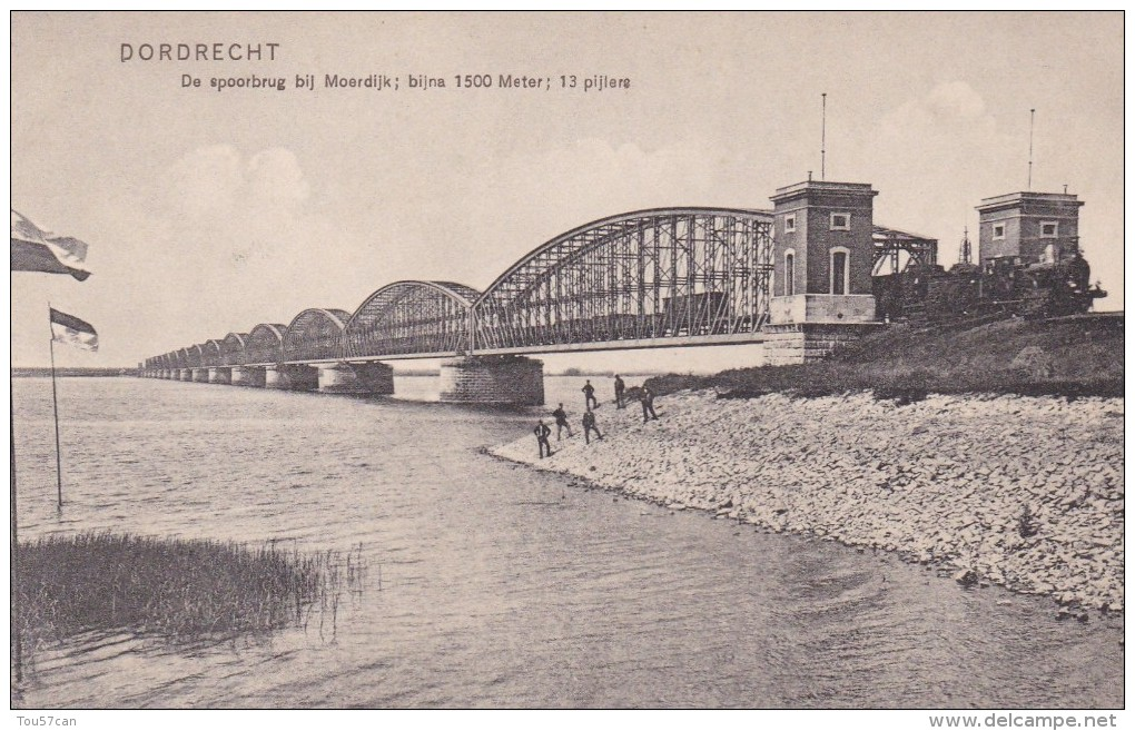 DORDRECHT - ZUID-HOLLAND - NEDERLAND - ANIMATED POSTCARD. - Dordrecht
