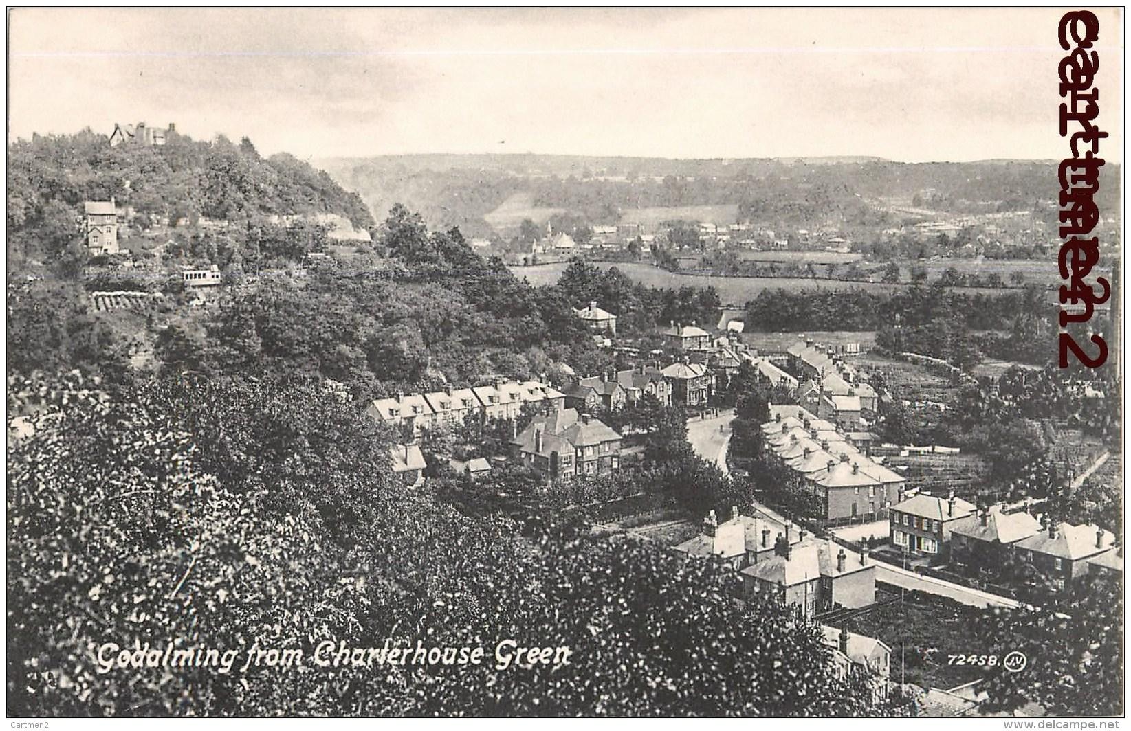 GODALMING FROM CHARTERHOUSE GREEN SURREY ENGLAND - Surrey