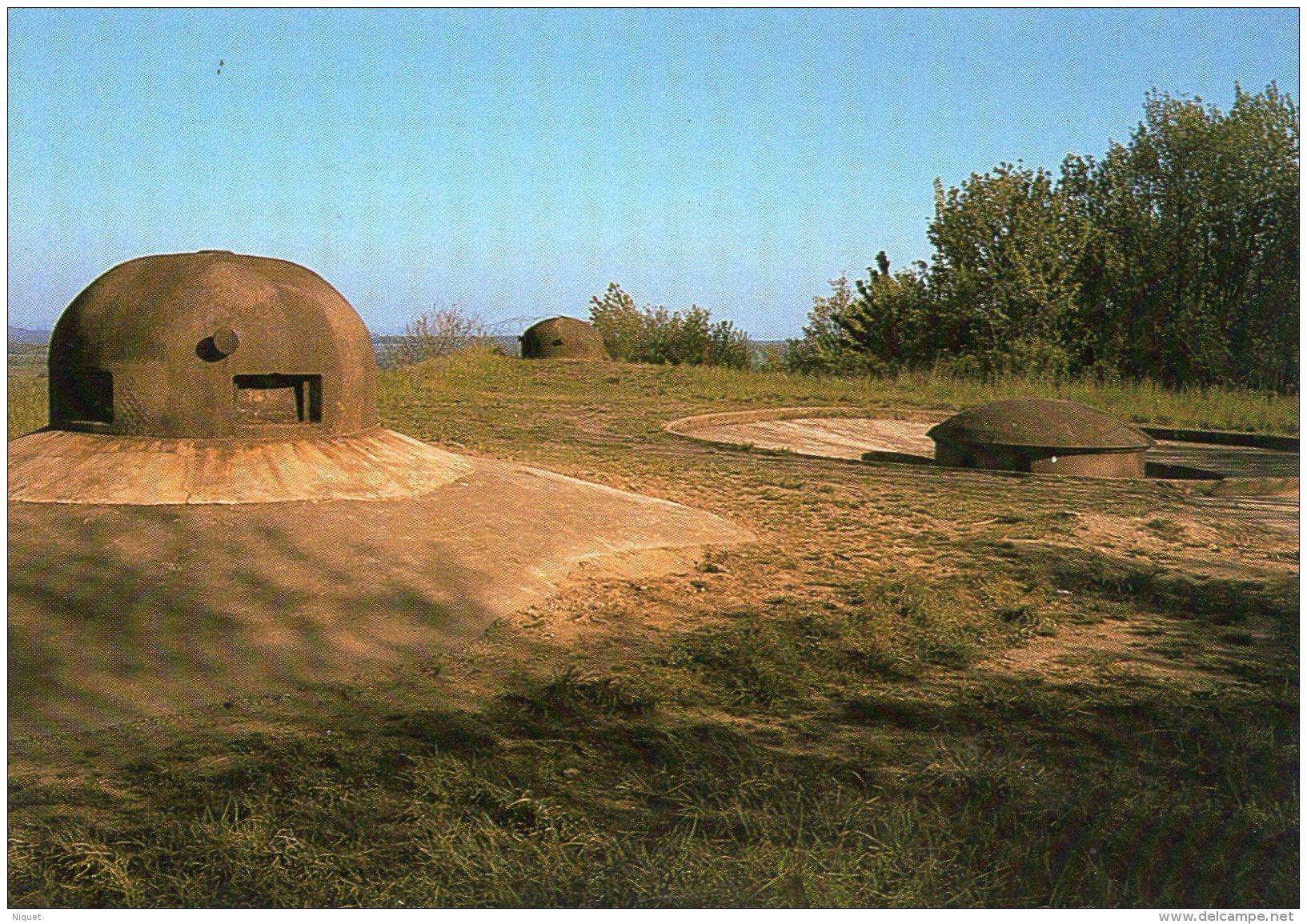 57 MOSELLE VECKRING, Ligne Maginot, Guerre 39-45, Tourelle De 135 Mm,  (Pierron) - Guerra 1939-45