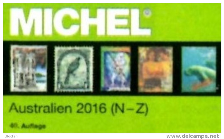 Part 7/1+2 Australien MICHEL 2016 New 168€ Australia Cook Falkland Fiji Marshall Niue Norfolk Oceania Palau Tonga Tuvalu - Literatur & Software