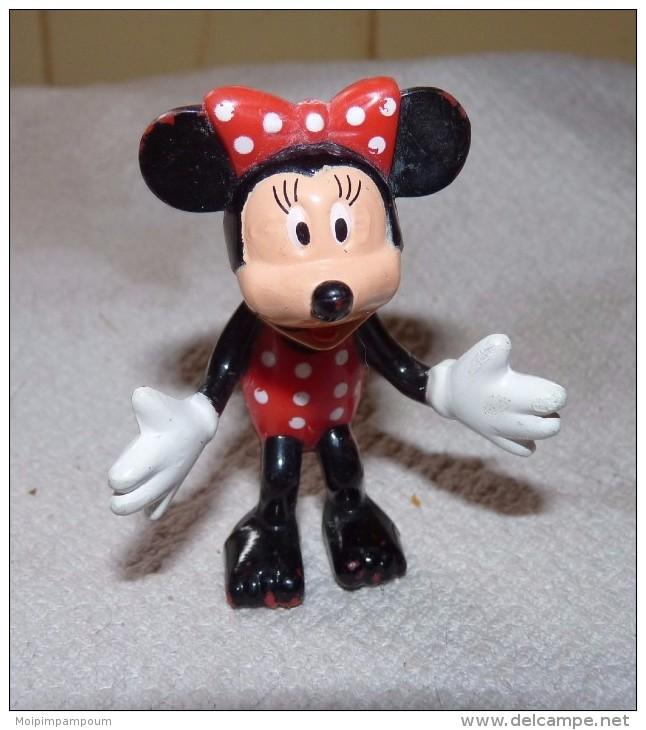 FIGURINE DE COLLECTION WALT DISNEY PVC MICKEY MOUSE / MINNIE 6 Cm - Disney