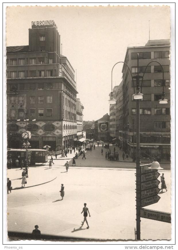 ZAGREB  -  Croatia, Hotel Dubrovnik, 1956. - Kroatië