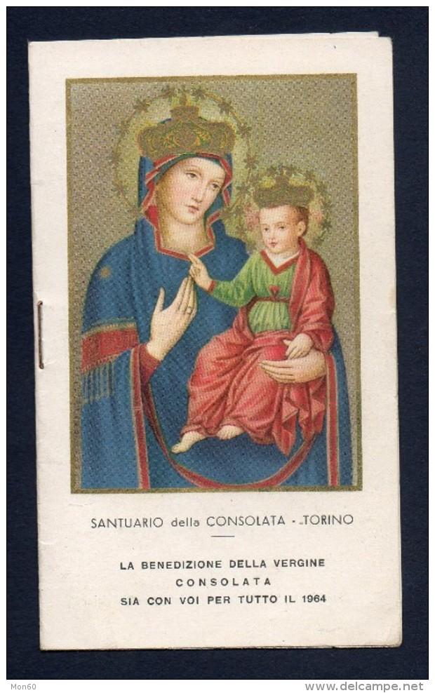 Calendarietto 1964 Santuario Della Consolata - Torino -S603 - Calendriers