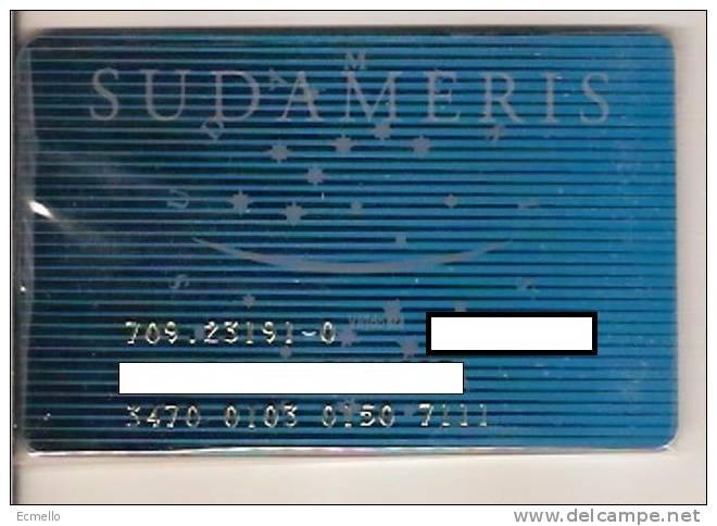 CC071 BRAZIL CARD BANCO SUDAMERIS ELETRONIC - Geldkarten (Ablauf Min. 10 Jahre)