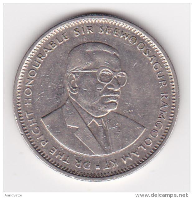 MAURITIUS 1 RUPPEE 1990 - Mauritanie