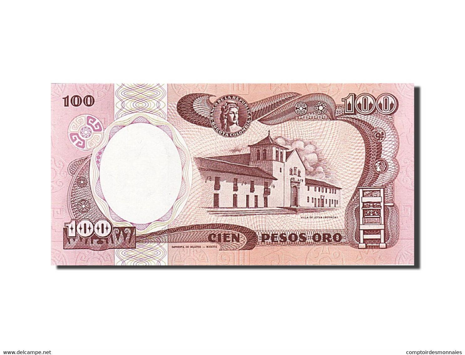 Colombie, 100 Pesos Oro, 1982-1984, KM:426e, 1990-01-01, NEUF - Colombie