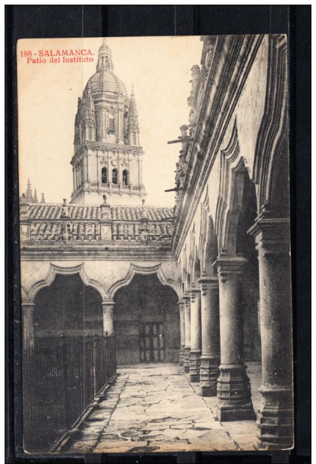 SALAMANCA.PATIO DEL INSTITUTO  NO CIRCULADA. 1910 - Salamanca
