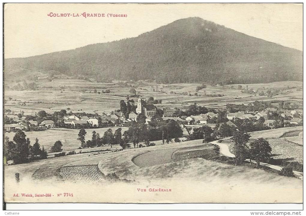 88 . COLROY LA GRANDE . VUE GENERALE - Colroy La Grande