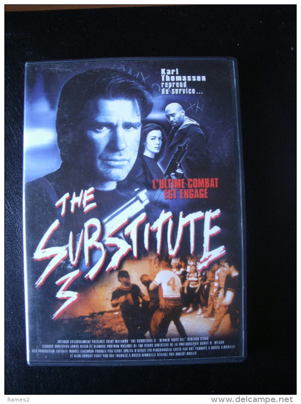 DVD    THE SUBSTITUE 3 - Action, Aventure
