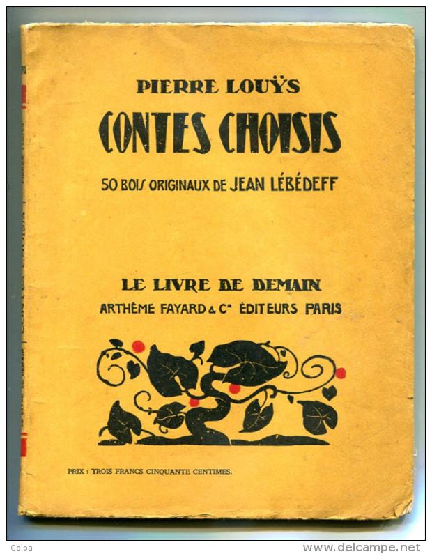 Pierre LOUYS Contes Choisis - 1901-1940