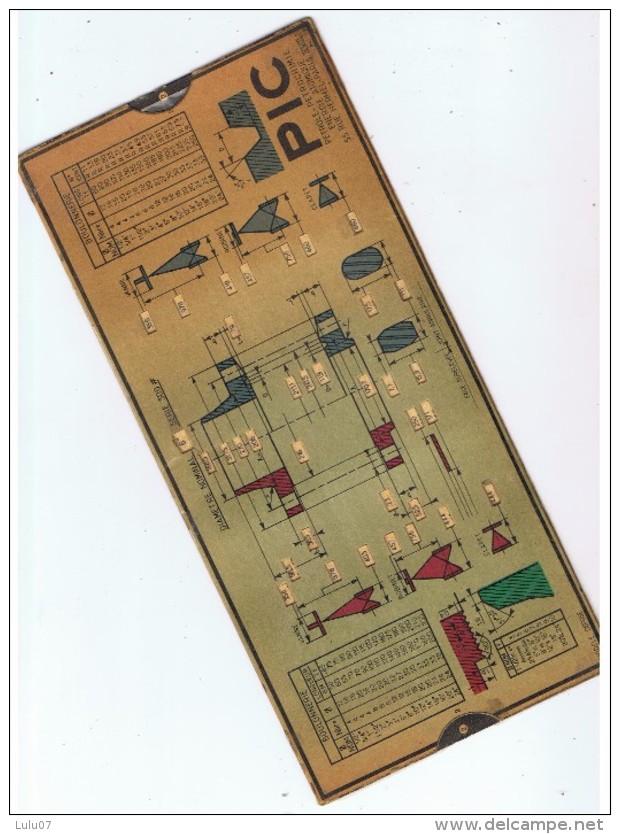 Document à Tirette Deux Faces   Boulonnerie   PIC  12 Cm  X  26 Cm - Technical Plans