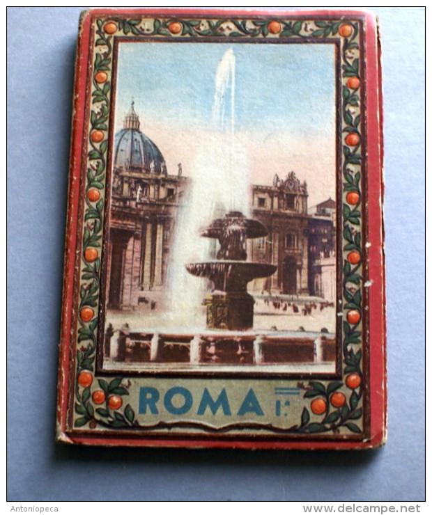 ITALIA - DUE VOLUMI DI 64 VEDUTE DI ROMA 1940 -SCROCCHI N. 602 - Albums & Catalogues