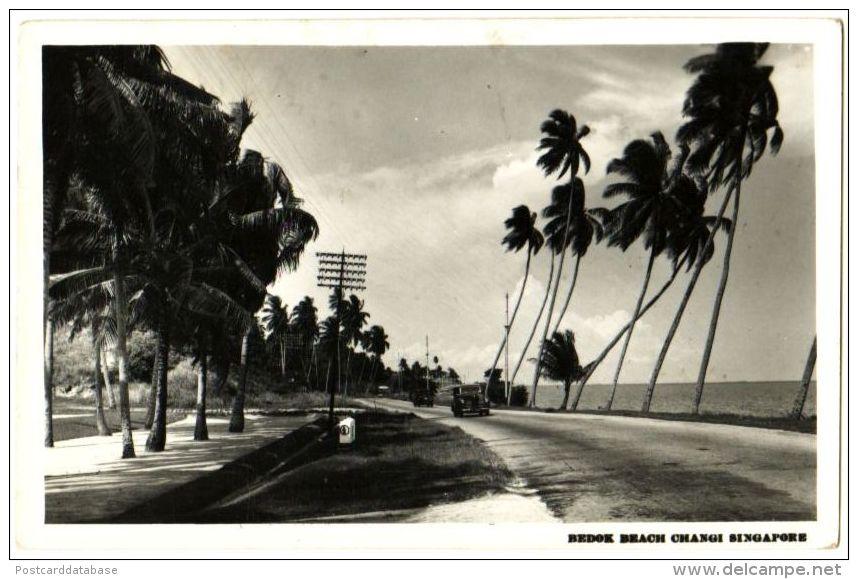 Bedok Beach Changi Singapore - & Old Cars - Singapore