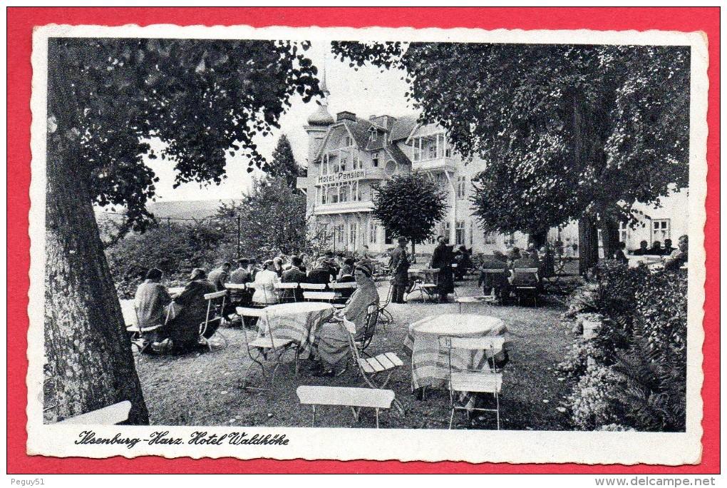 Ilsenburg (Harz). Hotel-Pension Waldhöhe. - Ilsenburg