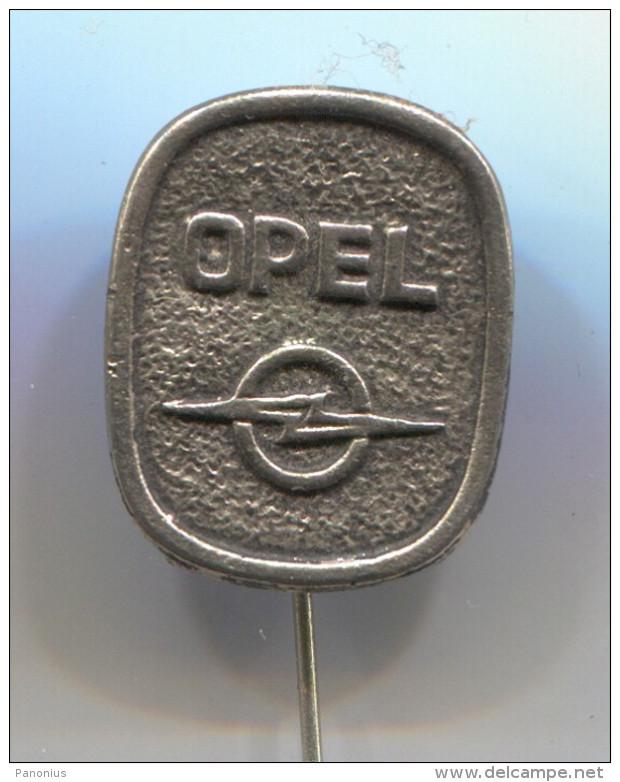 OPEL - Car, Auto, Automotive, Vintage Pin, Badge - Opel
