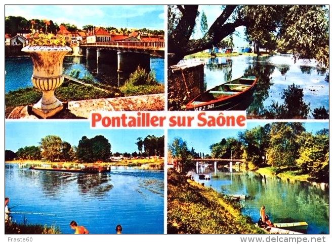 # Pontailler Sur Saône - CP Multivues - France