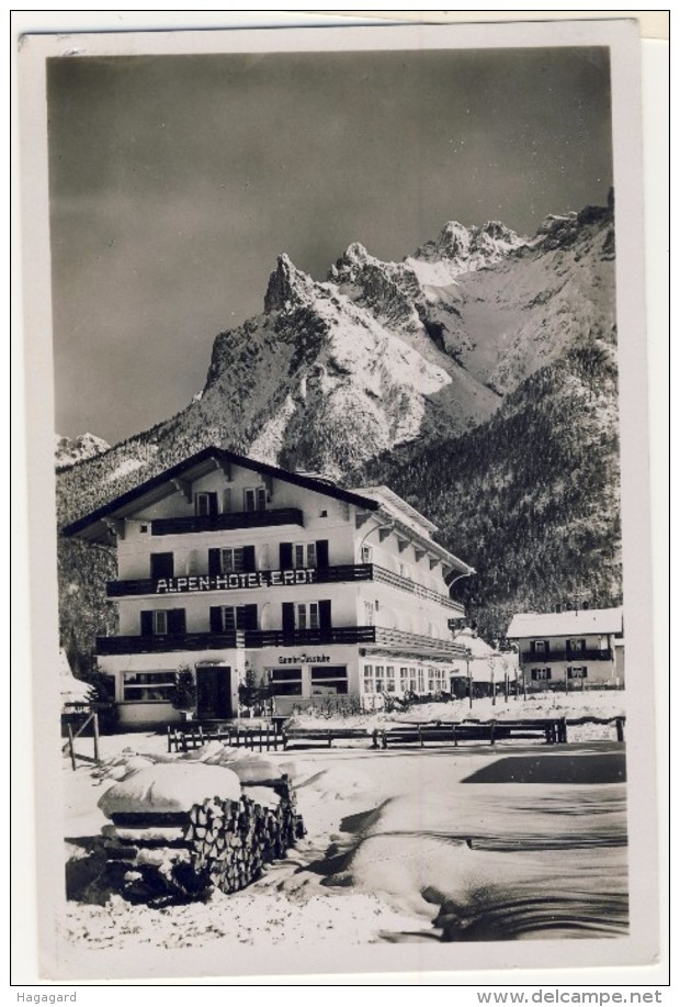 #F896. Germany 1935-40. Alpen-Hotel Erdt, Mittenwald. - Non Classés