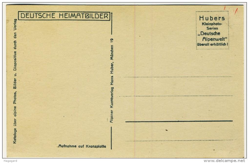 #F898. Germany 1935-40. Deutsche Heimatbilder, Huber Nr. 962. Wankbahn. Dreitorspitze Und Wettersteinwand. - Non Classés