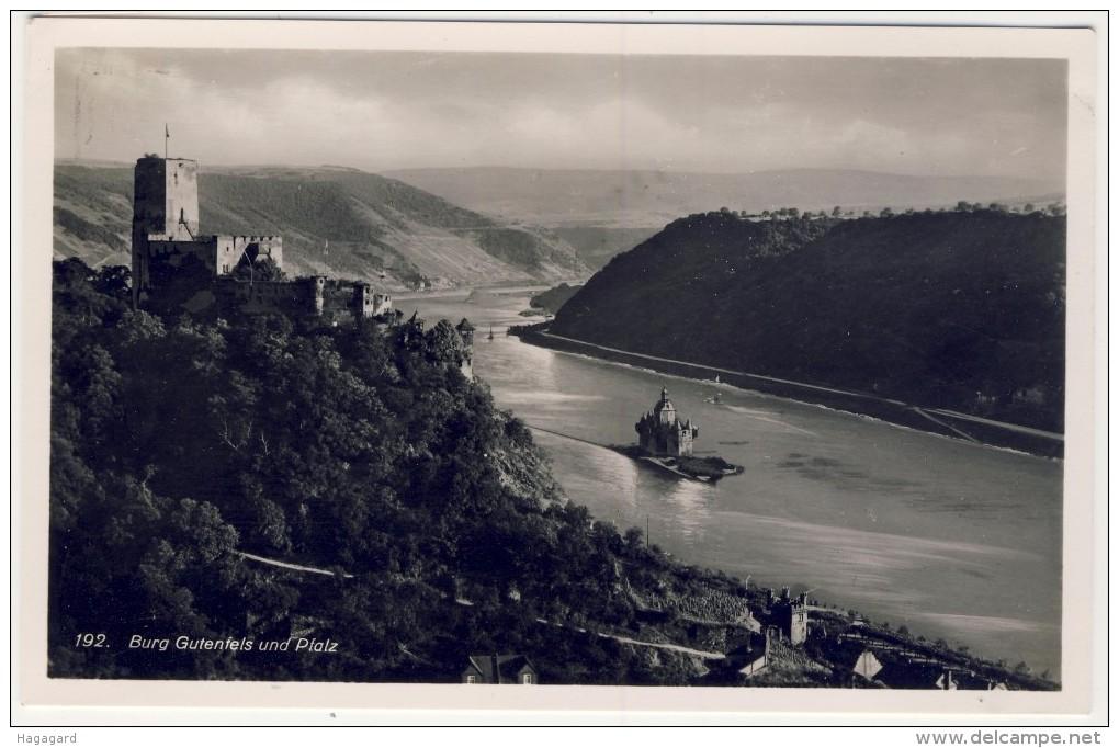 #F900. Germany 1935-40. Rheingoldserie Nr. 192. Burg Gutenfels Und Pfalz. - Allemagne