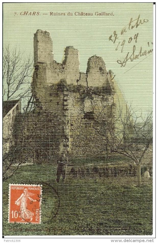 CPA  CHARS, Ruines Du Château Gaillard  12727 - Chars