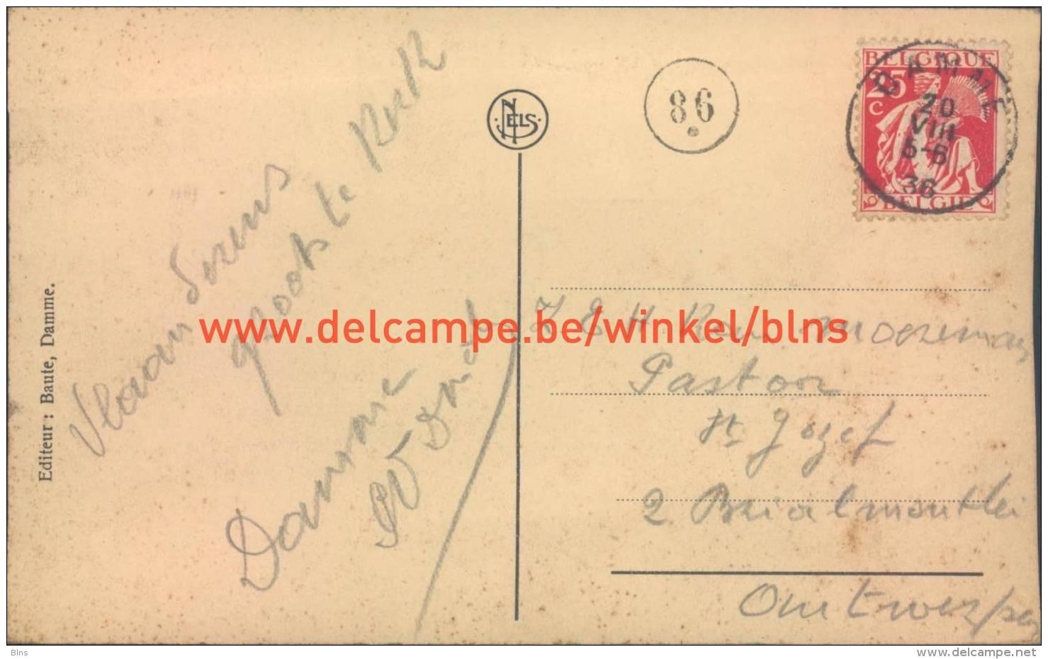 1936 Kerk Damme - Damme
