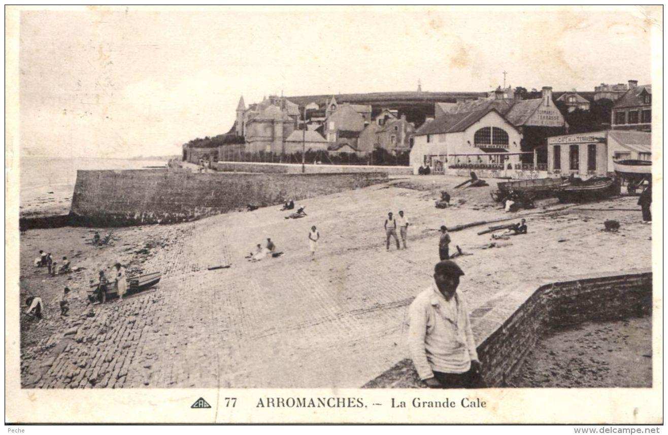 N°49730 -cpa Arromanches -la Grande Cale- - Arromanches