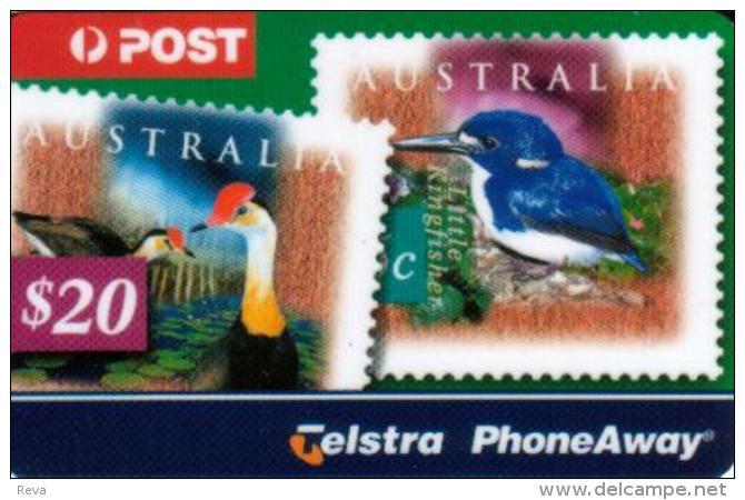 AUSTRALIA $20 PA BIRD STAMP SOLD ONLY IN FOLDER !! CODE: 33PA READ DESCRIPTION !! - Australia