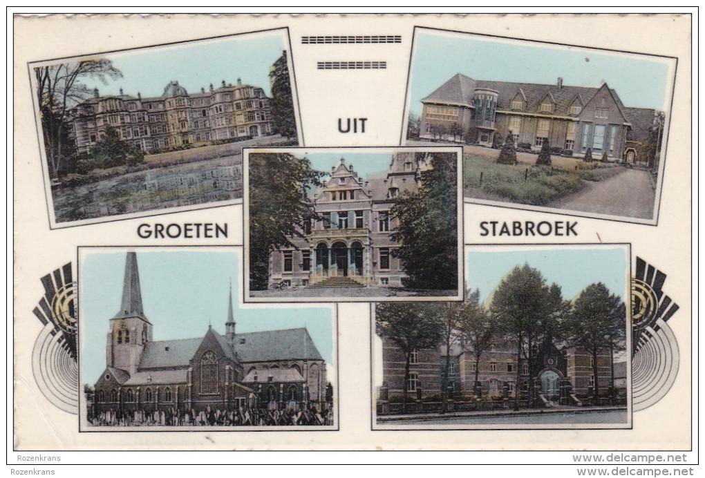 Groeten Uit Stabroek Gekarteld Antwerpse Polder Poldergemeente (kreukje) - Kapellen