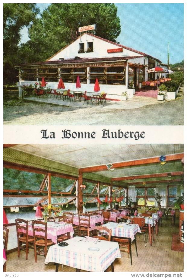"""POMMEVIC - Tarn Et Garonne : Restaurant  """" La Bonne Auberge"""". - France"""