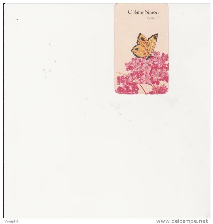 CARTE PARFUMEE  CREME SIMON - PARIS - - Vintage (until 1960)