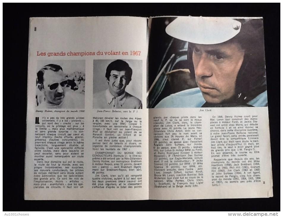 Micrecord Mai 1968 La Course Automobile - Auto/Motor