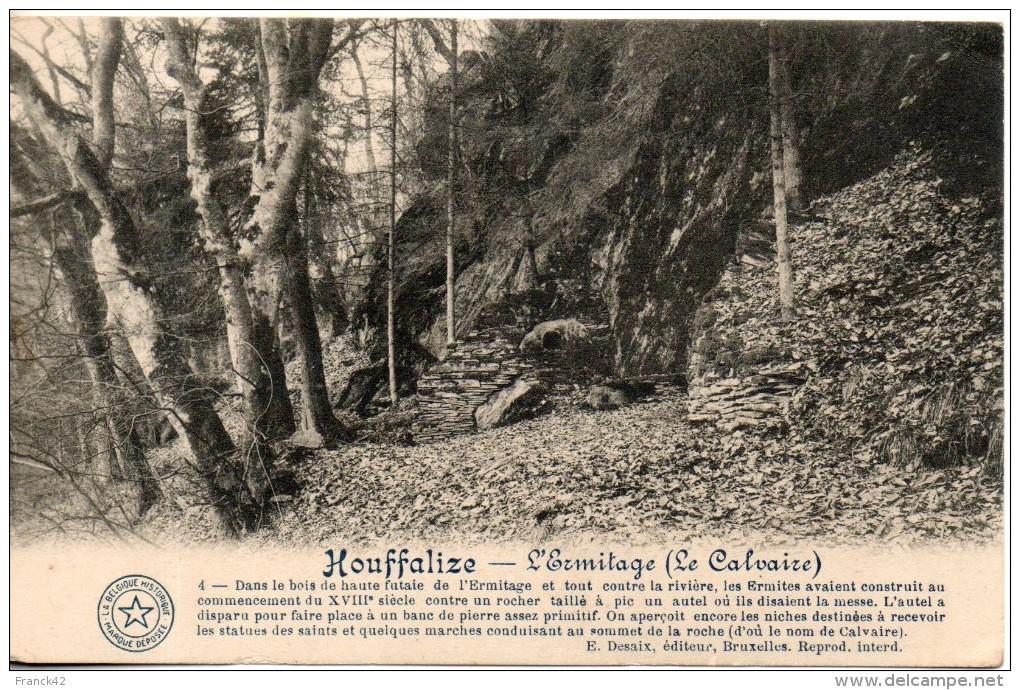 Belgique. Houffalize. L'ermitage. Coin Haut Droit Abimé - Houffalize