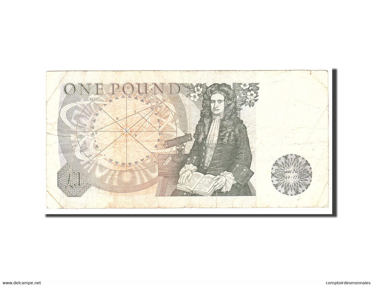 Grande-Bretagne, 1 Pound, 1978, KM:377a, Undated, TB - 1952-… : Elizabeth II