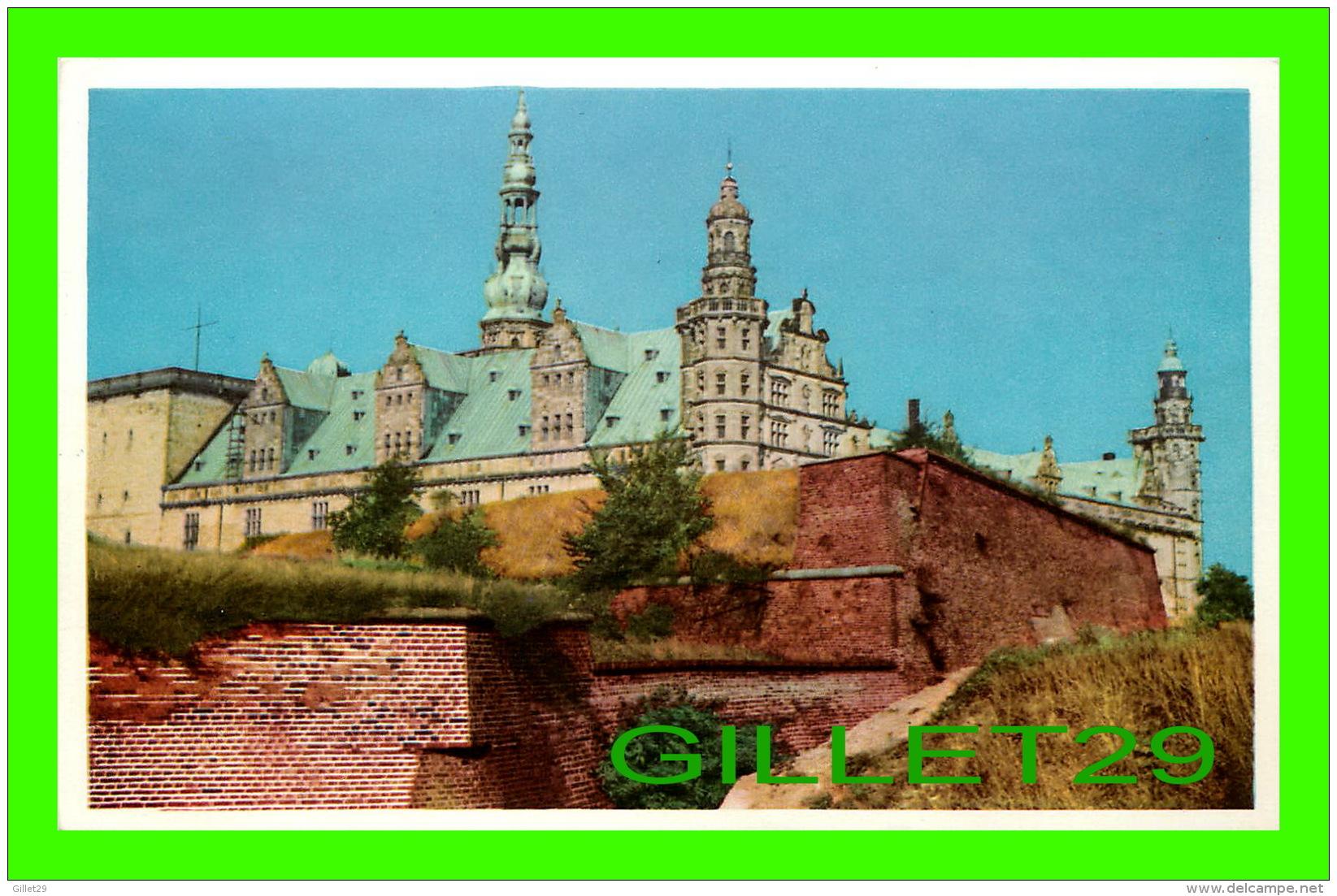 KRONBORG, DANEMARK - ELSINORE KRONBORG CASTLE - - Danemark