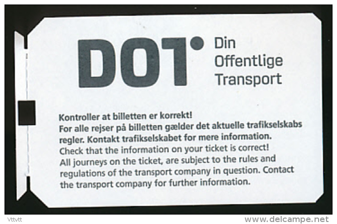 Ticket De Métro : Copenhague (Danemark) Fra Zone 3, Antal Zoner 2 - Subway