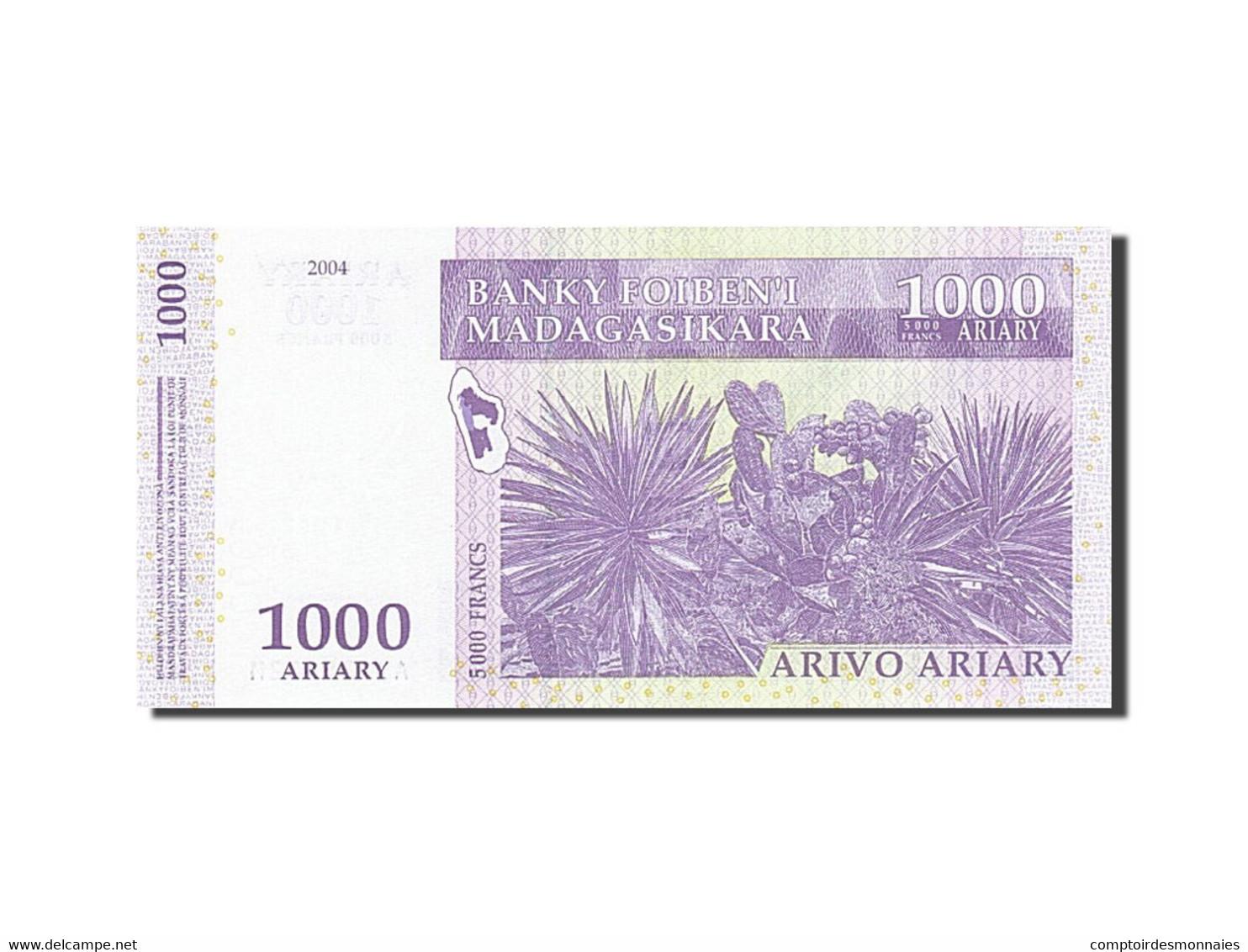 Madagascar, 1000 Ariary, 2004-2006, KM:89a, 2004, NEUF - Madagascar