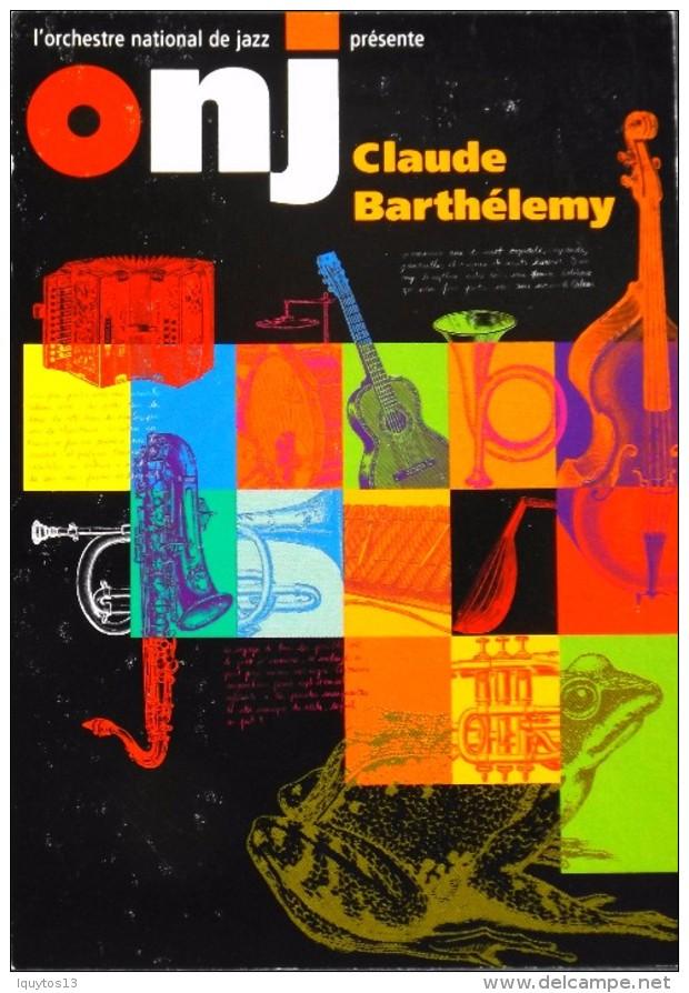 C.P. M. - Pub. Pour Le ONJ Claude BARTHELEMY - En Très Bon Etat - - Pubblicitari