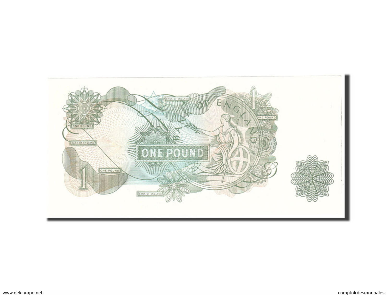 Grande-Bretagne, 1 Pound, 1970, KM:374g, Undated, NEUF - 1952-… : Elizabeth II