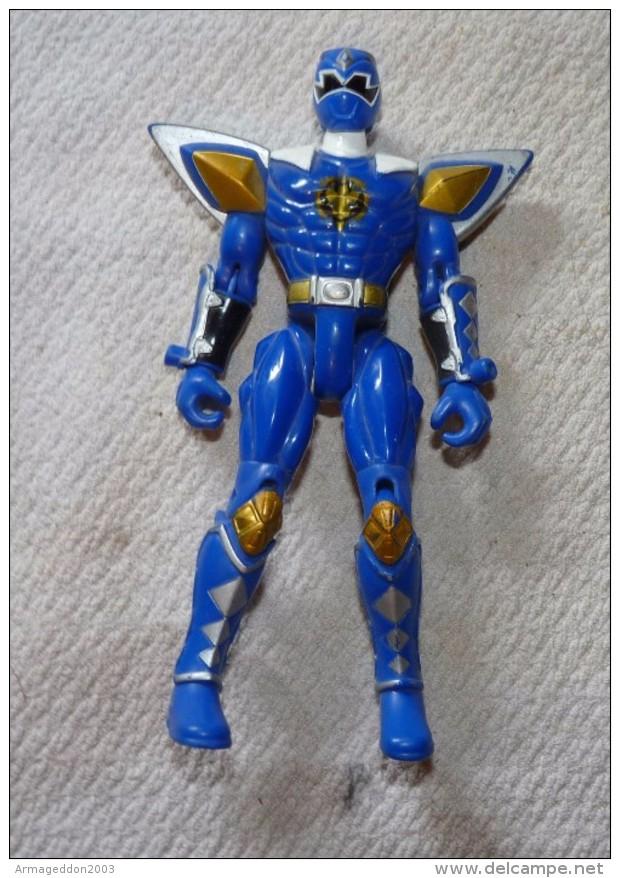 FIGURINE POWER RANGERS BLEU BANDAI 2003 / 14.5 Cm / TBE - Power Rangers