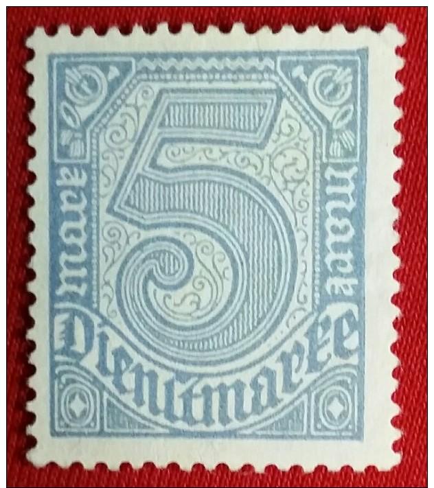 DEUTSCHES REICH / SENSATION / FARBABART //  5Mk. 1920/23 RRRR ( Kein Replik GARANTIE !!!!) - Abarten