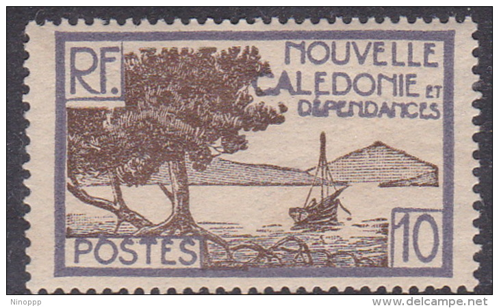New Caledonia SG 142 1928 Definitives  10c Brown And Lilac MNH - New Caledonia