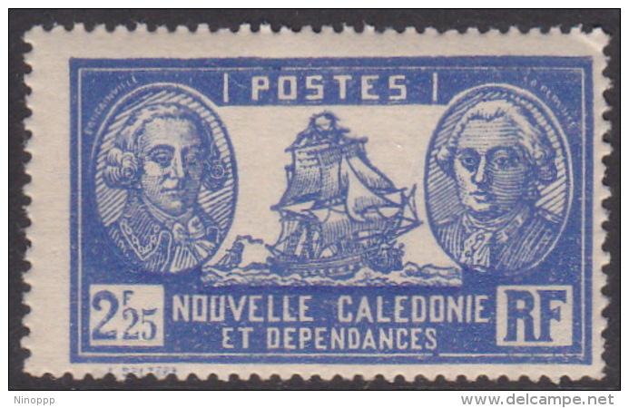 New Caledonia SG 173 1928 Definitives 2 F 25c Blue And Ultramarine MNH - New Caledonia