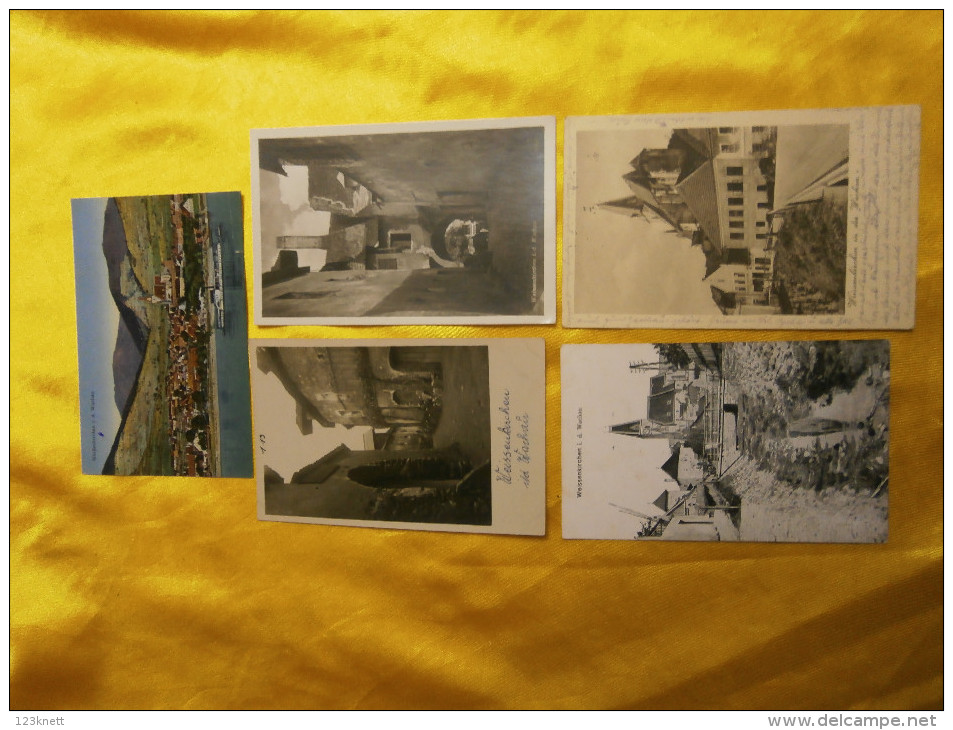 Ca. 400 Karten - Wachau ( Grossteil - Weissenkirchen ) Sammlungs - Auflösung - Ansichtskarten