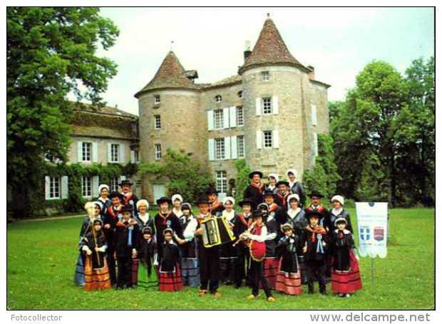 """Groupe Folklorique """"La Bourrée De Figeac"""" (46) - Figeac"""